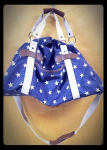 Star duffle overnight bag